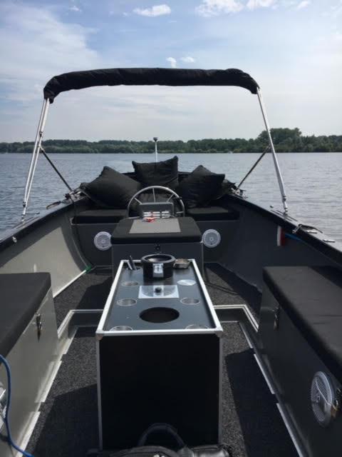 iSloep 735 rental boat in Amsterdam